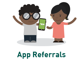 app referrals